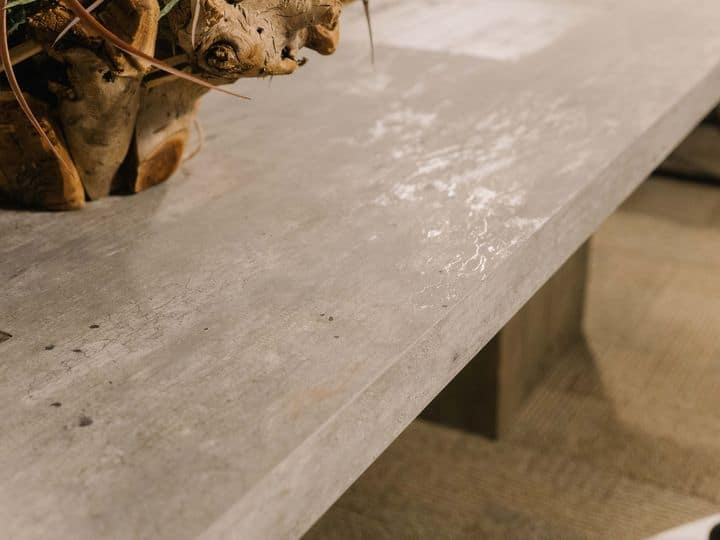 concrete table detail